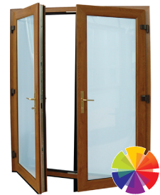 colour options for the uPVC double french door