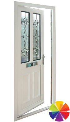 Colour options of the residential uPVC door
