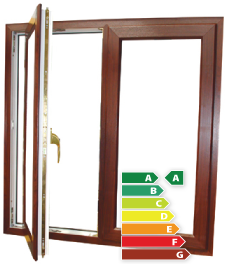 Energy saved by casement windows