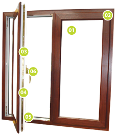 Click to see out casement windows