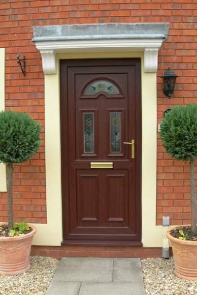 Look at our composite uPVC doors