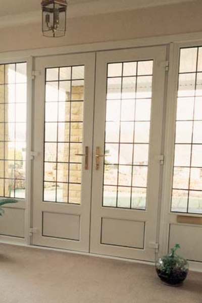 Look at our uPVC Double French Doors